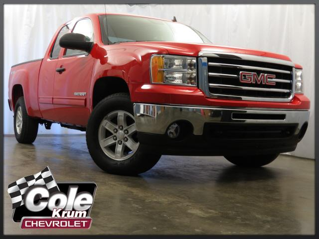 Certified Used GMC Sierra 1500 4WD Ext Cab 143.5 SLE