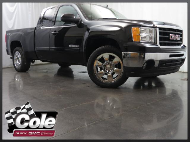 Certified Used GMC Sierra 1500 4WD Ext Cab 143.5 SLT